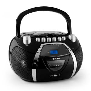 Beeboy radiomagnetofon CD MP3 USB czarny