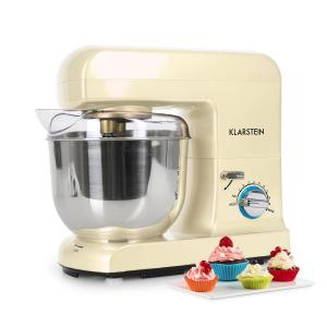 Gracia Morena Stand Mixer 1000W 1.3 HP Cream Creme