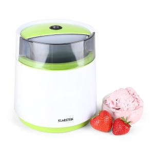 Bacio Verde Ice Cream Machine 0.8L White/Green Green