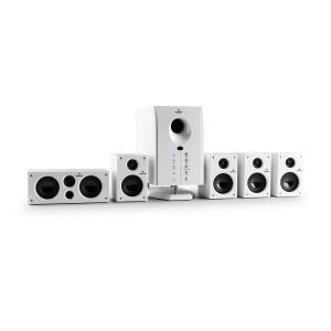 Areal 525 Wh Active 5.1 Channel Surround Speaker System 95W RMS AUX White White
