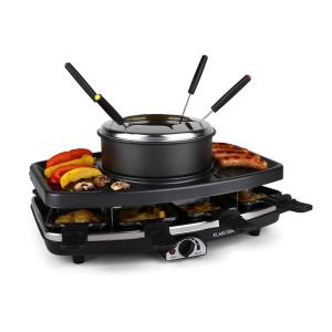 Ntrecote-Fondle grill-raclette kamieńnaturalny 1100W