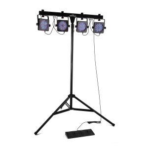 Mansfield kit effet de lumière LED pied traverse sac  DMX RGB