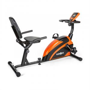 Relaxbike 5G Recumbent Exercise Bike 100kg max. Orange Black Orange