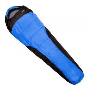 Gullfoss Sac de couchage 230x80x55cm 2 couches bleu Bleu