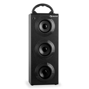 Beachboy XXL bluetooth-högtalare svart USB SD AUX FM Svart | XXL
