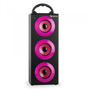 Beachgirl XXL Enceinte Bluetooth USB SD -rose Rose | XXL