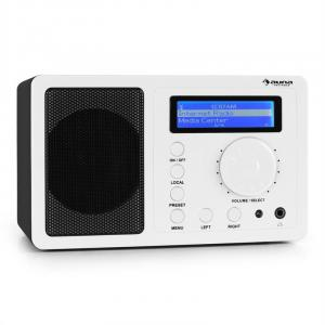 IR-130 Internet Radio W-LAN Streaming White White