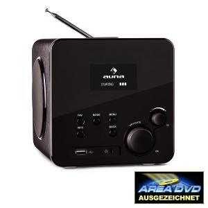 Radio Gaga Internet Radio Wifi DAB/DAB+ USB Black