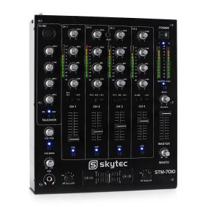STM-7010 4-kanals DJ-mixer USB MP3 EQ