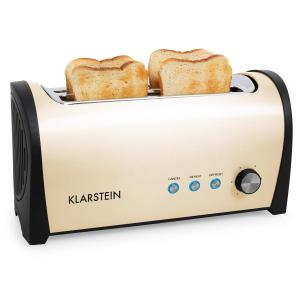 Cambridge Long Two-Slot Toaster 1400W Cream Creme