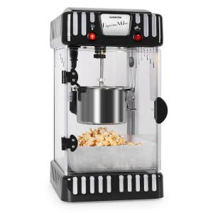Volcano 300W Popcorn Machine Stainless Steel Kettle Black Black