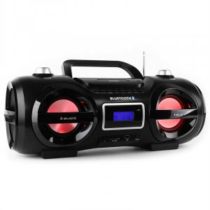 AH 234BT/MP3/USB Boombox bluetooth CD MP3 USB LED 7 couleurs