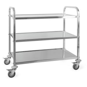 Great Gatsby Trolley Cart 3 Shelves Stainless Steel 3 floors