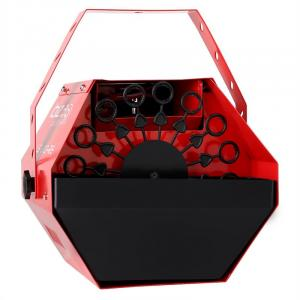 Light LBM-10 Party Bellenblaasmachine Bubbles rood