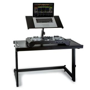DJ CONSOLEDS20 DJ Booth Work Station Desk Black