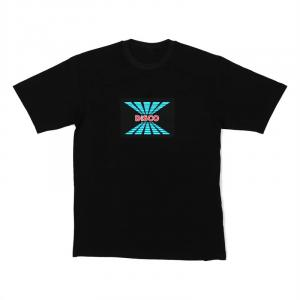 LED-shirt DISCO maat M