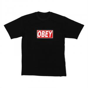 LED-shirt OBEY maat M
