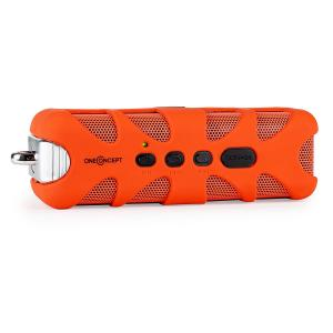 Black Know Altifalante Bluetooth AUX Laranja