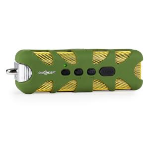 Green Know Bluetooth Speaker AUX Battery Green