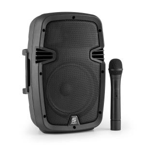 "SPJ-PA908 PA Speaker 20cm (8"") Battery Bluetooth USB SD MP3 VHF 350W 20 cm (8"")"