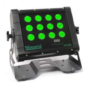 Beamz WH128 wall washer 12 x 8 W quad-LED-valot IP65 DMX. LED-valotehoste d8a6975c77