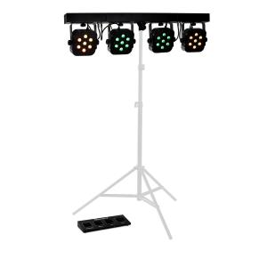 BARRA LED per treppiede 4 Way 7x10W Quad