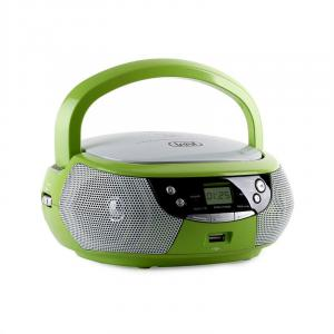 CMP 532 CD-Player USB AM/FM-Radio AUX grün Grün