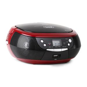 CMP 532 lettore CD USB radio AM/FM rossa rosso