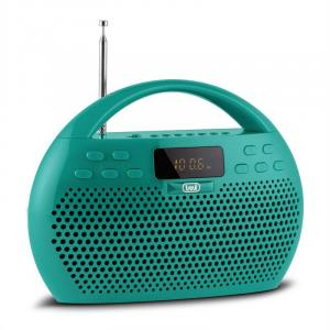 KB 308 BT radio digital boombox grön Bluetooth micro SD USB
