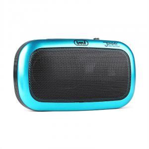 RS 745 USB portabler Radio-MP3-Player UKW/MW Akku blau