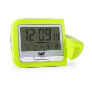 PJ3027 Projection Clock Weather Station Green