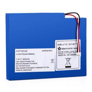 Batería adicional para Auna Soundstorm Boombox Batería de polímero de litio