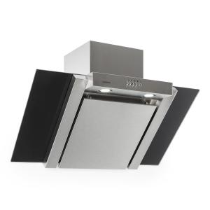 RGL90WSB Cooker Hood 90cm Stainless Steel 350m³/h Black