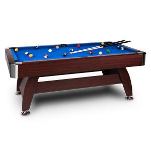 Brighton Pool Table 7ft (122x82x214 cm) Accessories Set Blue