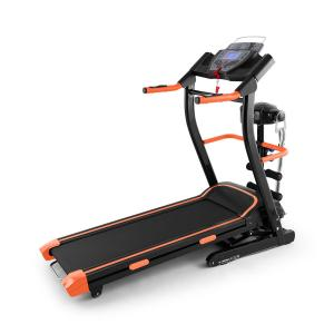 Pacemaker FX5 Laufband 1,5 PS 12 km/h Pulsmesser Massagegerät Sit-up Orange