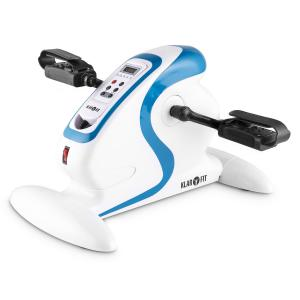 Cycloony MiniBike Arm & Leg Trainer Exerciser Motor 120kg Remote White / Blue White