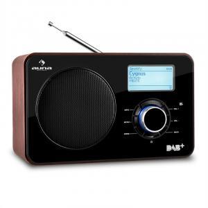 Worldwide radio internet WLAN/LAN DAB+ Tuner FM USB AUX Dual Alarm