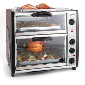 All-You-Can-Eat Dubbele oven met grillplaat 42 liter 2400 W