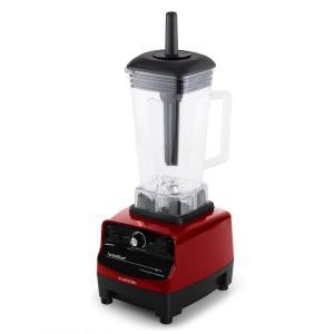 Herakles-3G 1500W 2,0 PS Mikser 2 litry czerwony wolny od BPA, czarny Czerwony