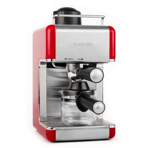 Sagrada Rossa macchina per caffè acciaio 800W 4 tazze rosso