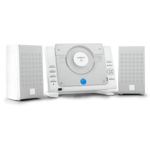 70 Stereo verticale CD USB ​​MP3 AUX bianco bianco