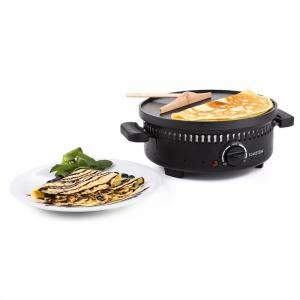 Schwyz 4in1 monitoimimipaahdin 800W grilli vohveli musta