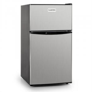 Big Daddy Cool Fridge 80 Liters Class A+ Stainless Steel Black Silver | 80 Ltr