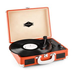 Peggy Sue Retro-Plattenspieler LP USB orange Orange