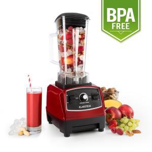 Herakles 2G-R Mixeur sur pied pour smoothie blender 1200W sans BPA Rouge