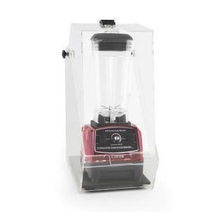 Herakles 2G pystymikseri punainen kannen kanssa 1200W 1,6 PS 2 litraa BPA-vapaa punainen