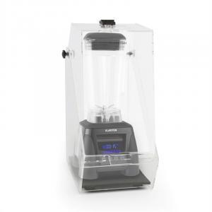 Herakles 8G pystymikseri musta kannen kanssa 1800W 2,4 PS 2 litraa BPA-vapaa musta