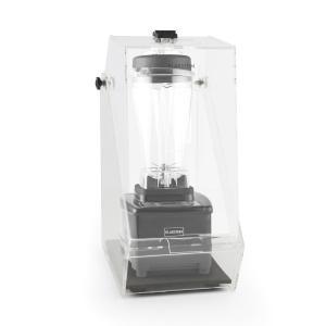 Herakles 4G pystymikseri musta kannen kanssa 1500W 2,0 PS 2 litraa BPA-vapaa musta