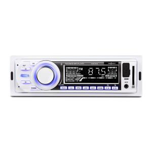 MD-185 Car Radio MP3 USB SD AUX FM Pre-Out White