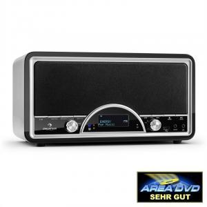 Virginia BK DAB/DAB+ Digital Radio Bluetooth USB FM AUX MP3 Black